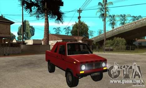 FSR Tarpan 237D (v.1) pour GTA San Andreas vue arrière
