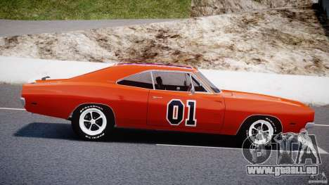 Dodge Charger General Lee 1969 für GTA 4 linke Ansicht