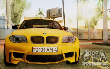 BMW 1M Coupe pour GTA San Andreas