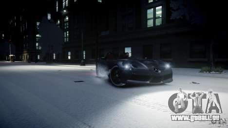 Mercedes Benz McLaren SLR Stirling Moss für GTA 4 linke Ansicht