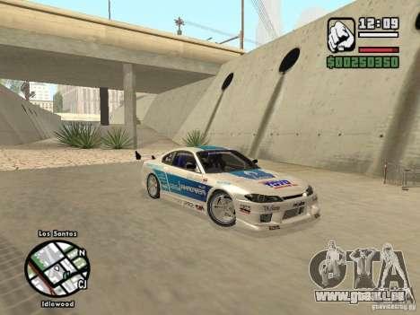 Nissan Silvia S15 Drift für GTA San Andreas
