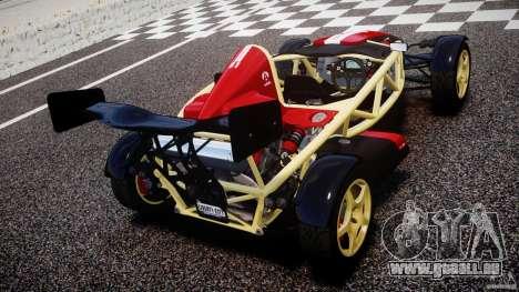 Ariel Atom 3 V8 2012 Custom Mugen für GTA 4 hinten links Ansicht
