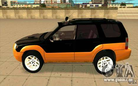 Subaru Forester Cross Sport 2005 pour GTA San Andreas laissé vue
