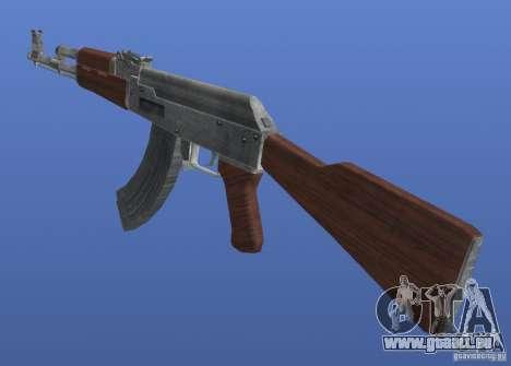 AK47 Retex 1.1 Chrome für GTA 4