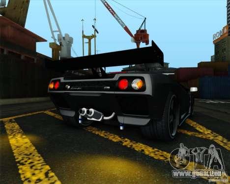 Lamborghini Diablo GTR V1.0 1999 pour GTA San Andreas vue de droite