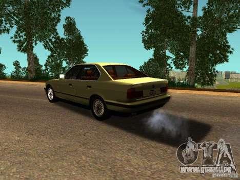 BMW 535 für GTA San Andreas zurück linke Ansicht