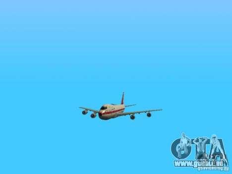 Boeing 747-100 für GTA San Andreas Seitenansicht