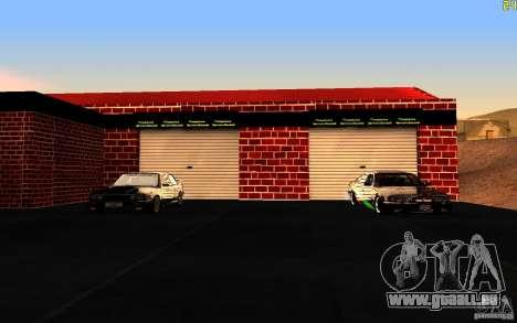 Nouveau garage dans Dorothy pour GTA San Andreas deuxième écran