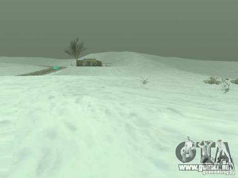 Frozen bone country pour GTA San Andreas
