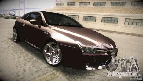 Alfa Romeo Brera Ti für GTA San Andreas Innenansicht