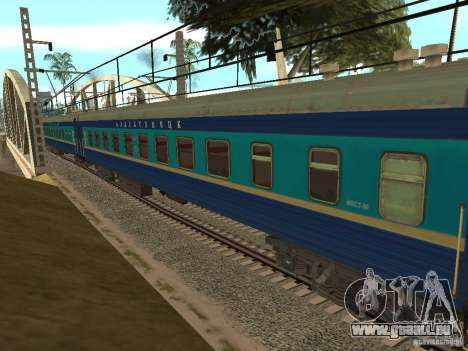Modification de chemin de fer III pour GTA San Andreas huitième écran
