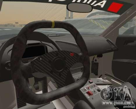 Audi R8 LMS v2.0.1 für GTA San Andreas Rückansicht