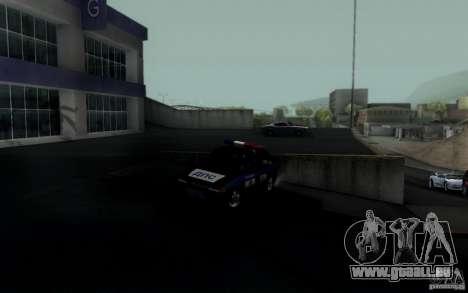 ВАЗ 2114 DPS pour GTA San Andreas vue de droite