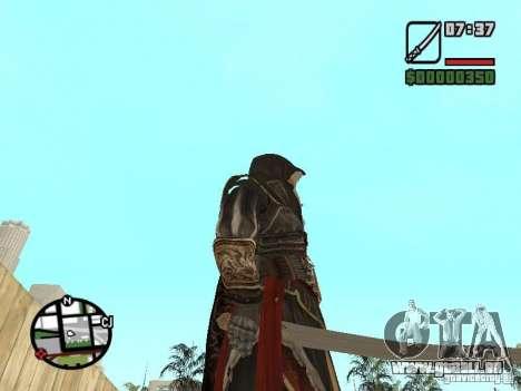 Schwert Ezio für GTA San Andreas dritten Screenshot