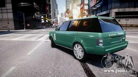 Range Rover Vogue für GTA 4 hinten links Ansicht