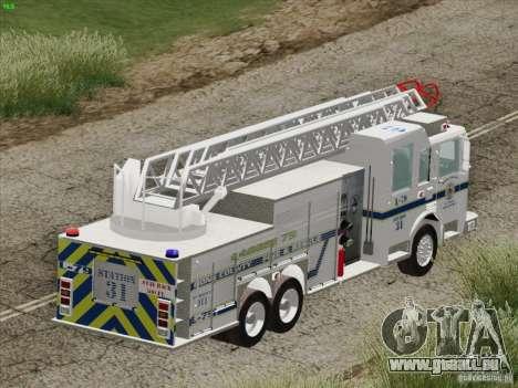 Pierce Puc Aerials. Bone County Fire & Ladder 79 für GTA San Andreas Räder