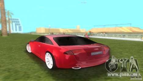 Audi Nuvolari Quattro pour une vue GTA Vice City de la gauche