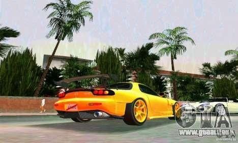 Mazda RX7 RE-Amemiya für GTA Vice City rechten Ansicht
