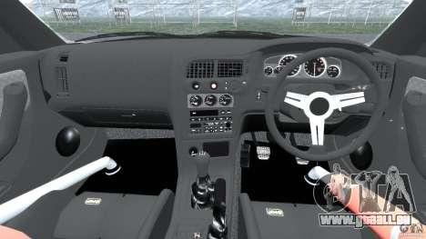 Nissan Skyline GT-R (R33) v1.0 für GTA 4 Rückansicht
