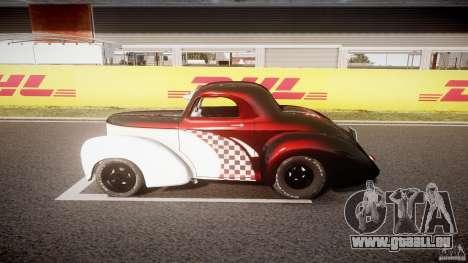 Willys Americar 1941 für GTA 4 Innenansicht