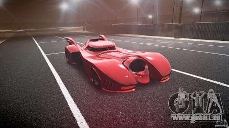 Batmobile Final pour GTA 4 Vue arrière