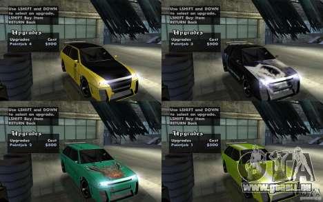 VAZ 2108 Devil V.2 pour GTA San Andreas vue arrière
