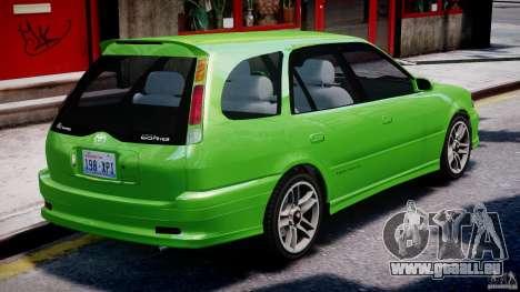 Toyota Sprinter Carib BZ-Touring 1999 [Beta] für GTA 4 Innen