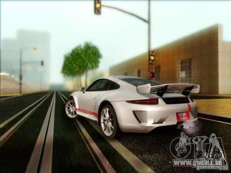 Porsche 911 Carrera S (991) Snowflake 2.0 pour GTA San Andreas sur la vue arrière gauche