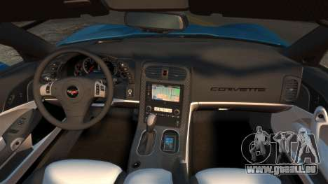 Chevrolet Corvette C6 2010 Convertible v2.0 für GTA 4 rechte Ansicht
