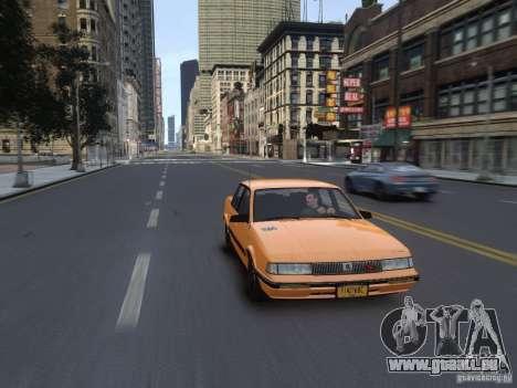 Oldsmobile Cutlass Ciera 1993 pour GTA 4 est un côté