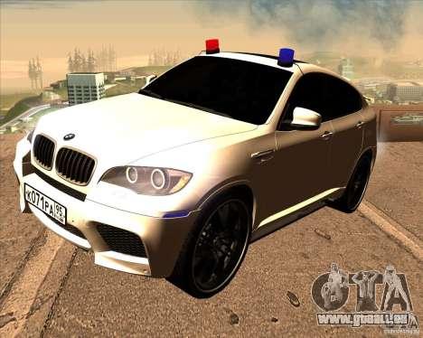 BMW X6 M E71 für GTA San Andreas
