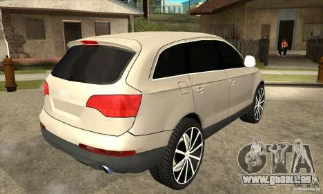 Audi Q7 v2.0 für GTA San Andreas rechten Ansicht
