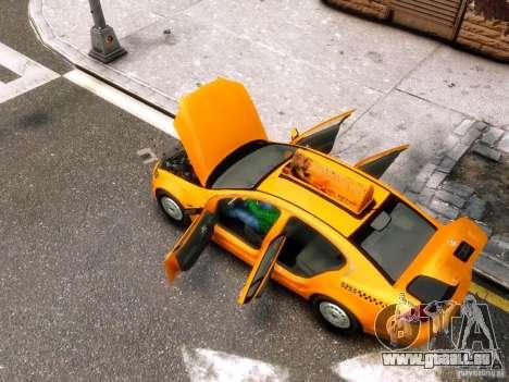 Holden NYC Taxi für GTA 4 Seitenansicht