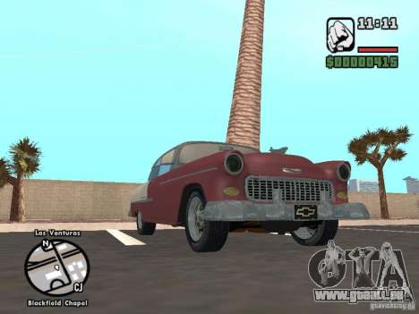 1955 Chevy Belair Sports Coupe für GTA San Andreas