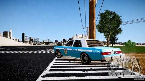 Dodge Diplomat 1983 Police v1.0 für GTA 4 rechte Ansicht