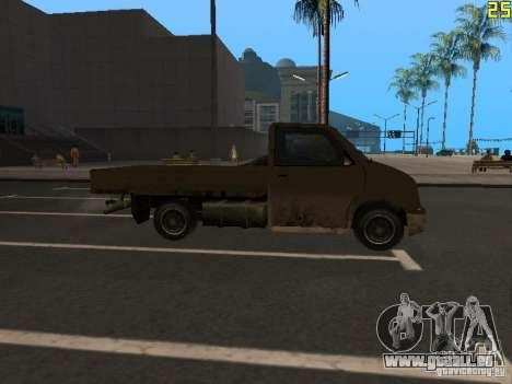 Moonbeam Pickup pour GTA San Andreas vue de droite