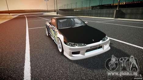 Nissan Silvia S15 Drift v1.1 pour GTA 4 est une vue de l'intérieur