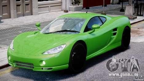 Ascari KZ-1 pour GTA 4 est une gauche