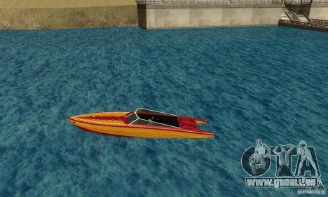GTAIV Jetmax pour GTA San Andreas laissé vue