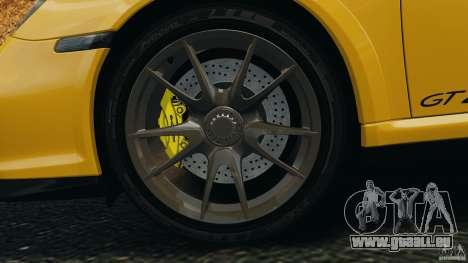 Porsche 911 GT2 RS 2012 v1.0 pour GTA 4 vue de dessus