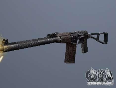 Une série d'armes de stalker V2 pour GTA San Andreas quatrième écran