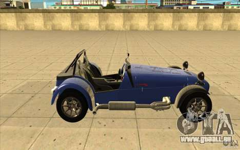 Caterham Superlight R500 für GTA San Andreas Innenansicht