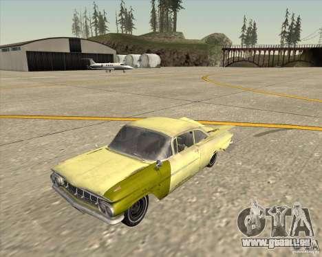Chevrolet Biscayne 1959 für GTA San Andreas rechten Ansicht