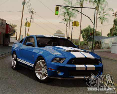 Ford Shelby GT500 2011 pour GTA San Andreas