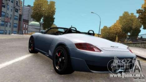 RUF RK Spyder 2006 [EPM] für GTA 4 Rückansicht
