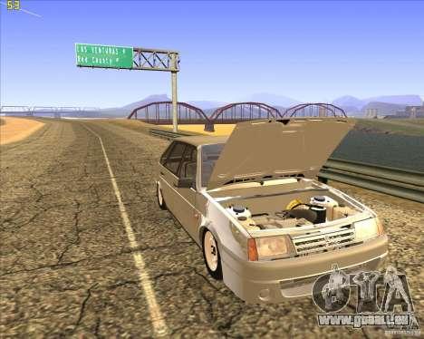 VAZ 2109 Tuning für GTA San Andreas Seitenansicht
