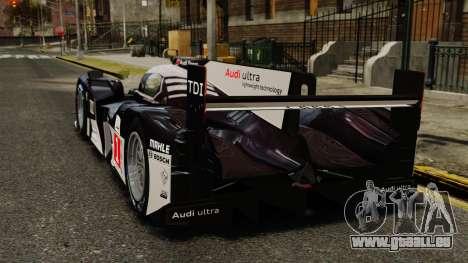Audi R18 TDI v2.0 für GTA 4 hinten links Ansicht