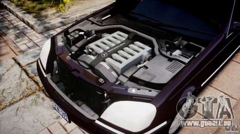 Mercedes-Benz 600SEC C140 1992 v1.0 pour GTA 4 est une vue de l'intérieur