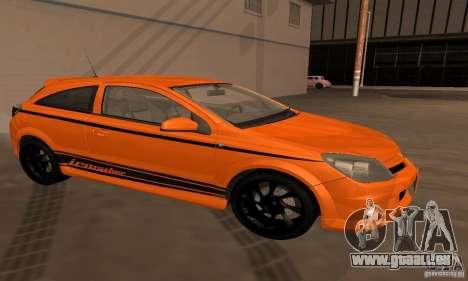 Opel Astra GTS für GTA San Andreas Seitenansicht