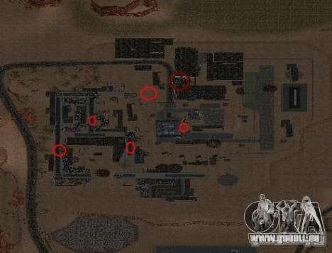 Tchernobyl MOD v1 pour GTA San Andreas deuxième écran